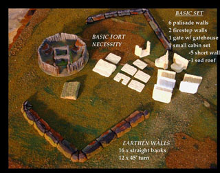 French Amp Indian War Terrain Sets Table Top Talk